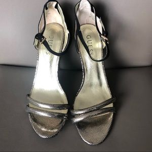 Beautiful Guess stilettos perfect for the holidays